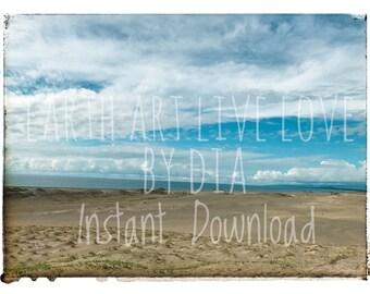 Sand Dunes - Instant Download