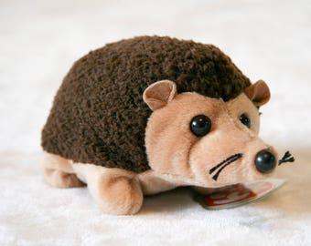 Vintage Prickles Beanie Baby Hedgehog 1998 Retired.