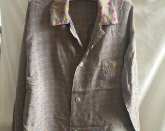1940s rayon pajama set