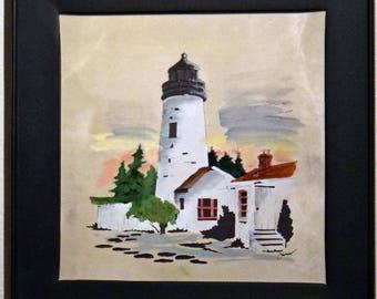 Beautiful white Lighthouse