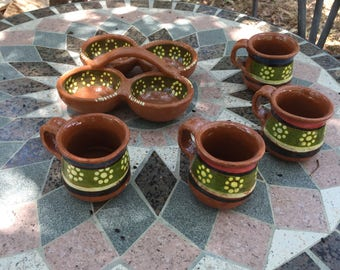Mexico clay cups