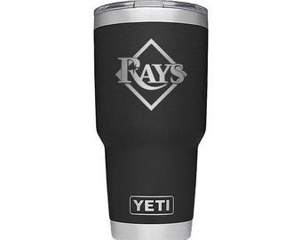 Tampa Bay Rays YETI Cup Tampa Bay Rays Cup Tampa Bay Rays Party Tampa Bay Rays Gift Tampa Bay Rays Birthday