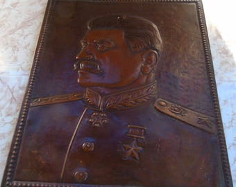 historical portrait of Stalin