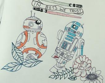 In Bots We Trust - Star Wars Illustration/Design