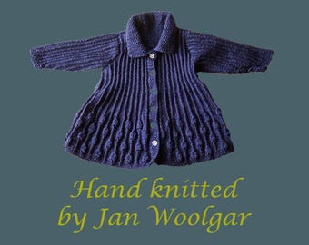Brand New, Hand Knitted, Dress, Jacket in sizing 0- 18 months
