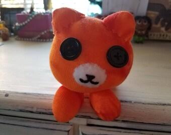 """Tabby Cat Plush 4"""""""