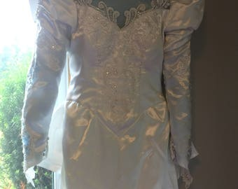 Vintage wedding dress 1990's