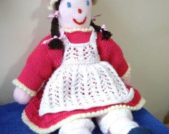 Rag Doll - knitting pattern