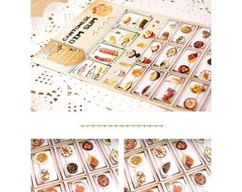 Daisyland Cantonese Dim-Sum Sticker Decorative DIY Planner Sticker