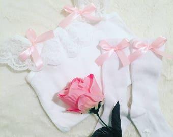 Handmade Lace Vest & Sock Sets