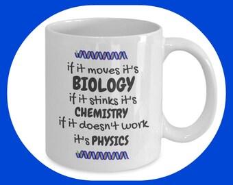 Biologist Mug - Biology Student - Biology Teacher Gift - Biology Student Gift - Biology Gift - Biology Coffee Mug