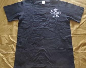 Vintage Chrome Heart T shirt Rare