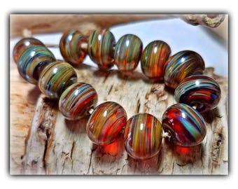 Southern Comfort Petite Accents Lampwork Beads