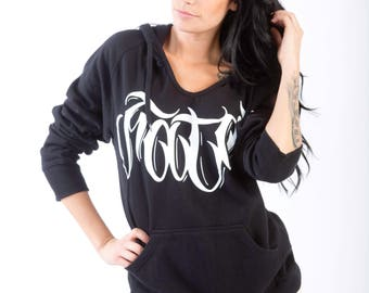 Womans Pullover Hoodie (Size Small)