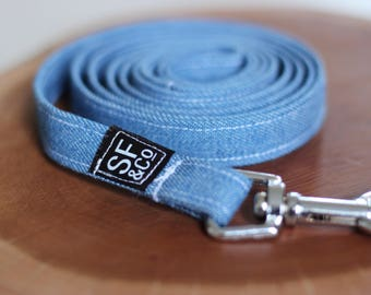 XS/S Denim Pet Leash