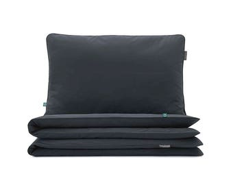 Bedding Set Basic Charcoal