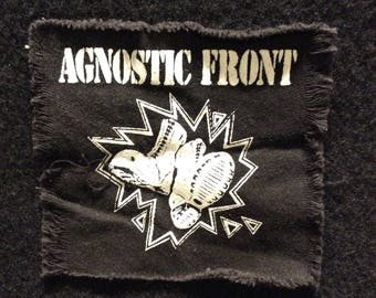 Agnostic Front Patch