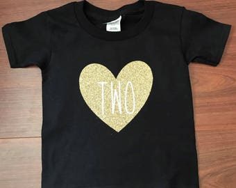 Toddler Number Birthday shirt