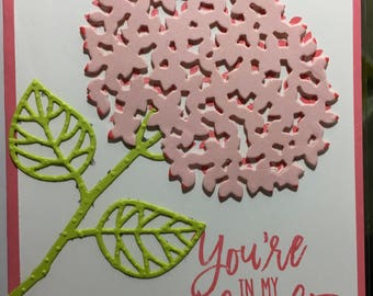 You're in my Thoughts Greeting card