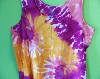 Tie Dye Tank Top ladies size 5XL