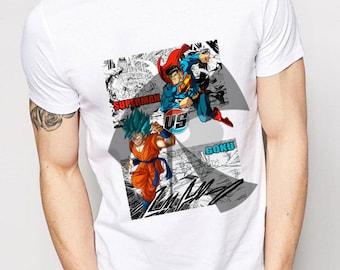 Dragonball Super Goku vs Superman