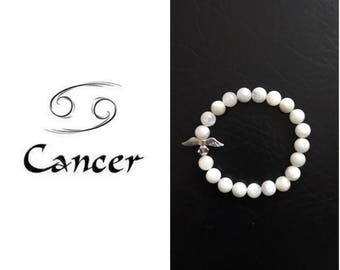 Moonstone Cancer Birthstone Bracelet