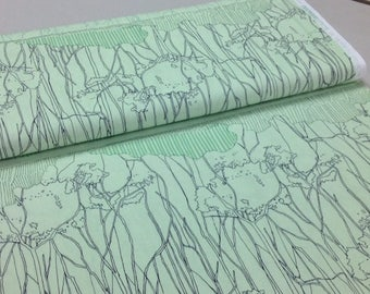 SALE! Carolyn Friedlander PISTACHIO Cotton Fabric, sold by the 1/2 yard, by Robert Kaufman, AFR-16610-52  quilting