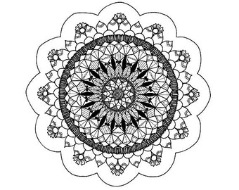 Mandala 2 Print