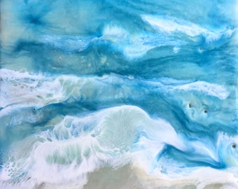 Encaustic Painting: Onto the Shore