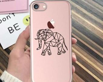 iPhone 7 case,iPhone 7 Plus case,iPhone 6 case,clear,ELEPHANT,iPhone SE,animals,iPhone X case,iPhone 8 case,iPhone 8 Plus case,phone case