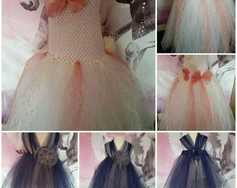 Flowergirl dress (custom style)