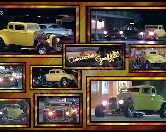 American Graffiti 1973 !!! 32 Deuce Coupe Custom Movie Poster 11x17  Buy 2 Get 1 FREE!!!