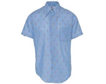 Montgomery Ward Button Up - Men's Size M