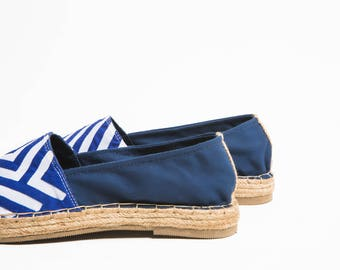 Jutes Cool closed Blue heel blue