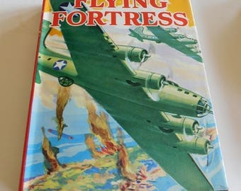 Vintage Flying Fortress Barry Blake 1943 Book