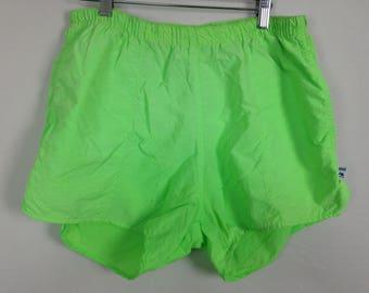 Light green shorts size M