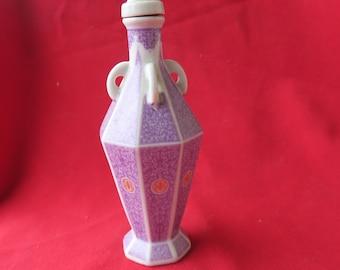flacon en porcelaine de Chine XX ème, décoration, collection - China porcelain flask - 中国瓷瓶, botella de porcelana, porcelánová zberná fľaša