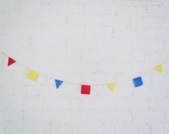 Party Garland, party banner, birthday banner, party decor, paper garland, birthday bunting,
