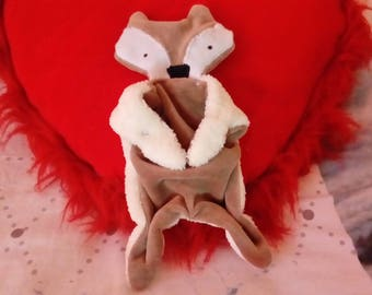 Fox stuffed plush