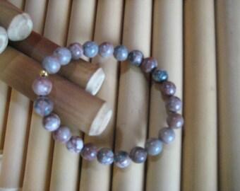 Natural Jasper stone bracelet