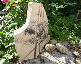 Modern decor handmade ceramic vase