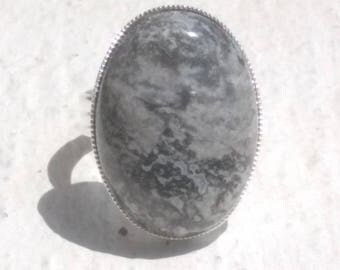 Ring agate crazy lace or snake skin