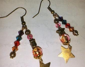 Earrings Collection rain of stars