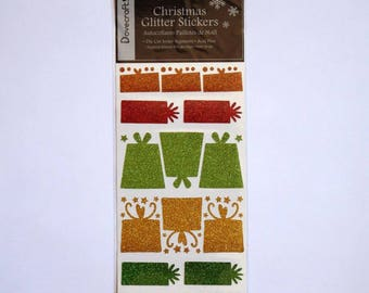 Dovecraft Christmas glitter stickers - 000970