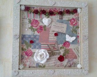 romantic frame shabby