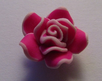Pearl flower polymer 18mm in diameter