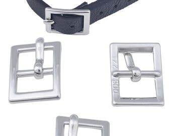 Belt buckle for leather 10 mm maximum