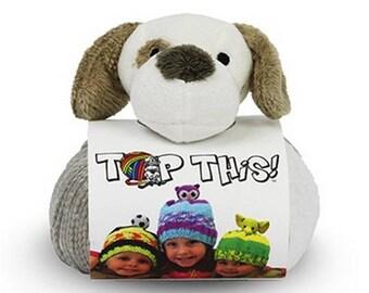 kit bonnet  TOP THIS bonnet chien spécial! de DMC
