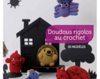 Book 50 crochet toys patterns very cute