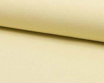 Yellow vanilla / plain, cut 25cm